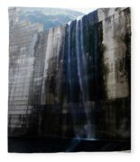 A Banksy Inspired Graffiti Art Fleece Blanket