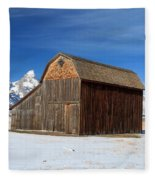 A Barn With A View Fleece Blanket