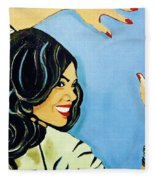 A Beautiful Girl 2 Fleece Blanket