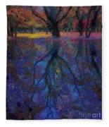 A Beautiful Reflection  Fleece Blanket
