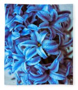A Beauty In Blue Fleece Blanket
