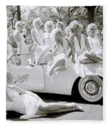 Inspirational Marilyn Fleece Blanket