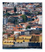 A Bit Of Funchal Fleece Blanket