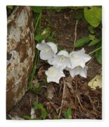 A Bloom In Time Fleece Blanket