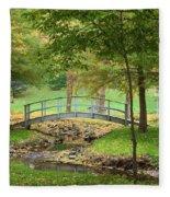 A Bridge To Peacefulness Fleece Blanket