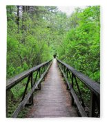 A Bridge To Somewhere Fleece Blanket