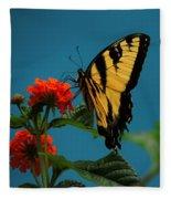 A Butterfly Fleece Blanket