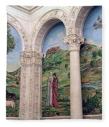 A Chapel's Mosaics Fleece Blanket