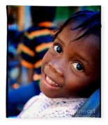 A Child's Smile Is One Of Life's Greatest Blessings Fleece Blanket