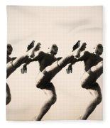A Chorus Line Fleece Blanket