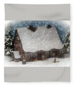A Christmas In My Dreams Fleece Blanket
