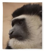 A Colobus Monkey Fleece Blanket