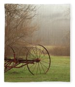 A Country Scene Fleece Blanket