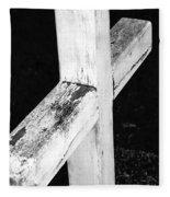 A Cross Abstract 2 Fleece Blanket