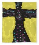 A Cross To Bare Fleece Blanket