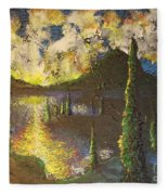 A Cypress Congregation Fleece Blanket