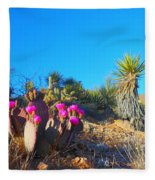 A Dangerous Yet Beautiful Land Fleece Blanket