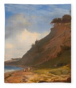 A Danish Coast Fleece Blanket