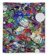 A Dash Of Abstract Imagery Fleece Blanket