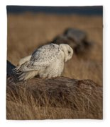 A Different Point Of View Fleece Blanket