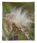 A Feather's Weight In Gold Fleece Blanket