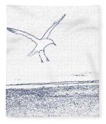 A Fine Flight Fleece Blanket