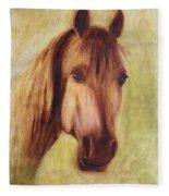 A Fine Horse Fleece Blanket