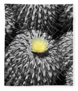 A Flower Among Thorns Fleece Blanket