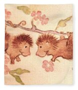 A Flower For You Fleece Blanket