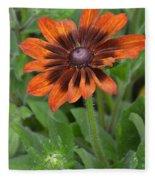 A Flower Within A Flower Fleece Blanket