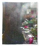 A Foggy Mist Fleece Blanket