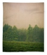 A Forest Fleece Blanket