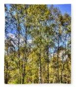 A Forest Glade Fleece Blanket