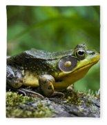 A Frog Is Forever Fleece Blanket
