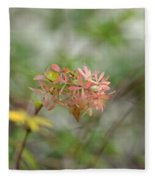 A Glimpse Of Spring To Come Fleece Blanket