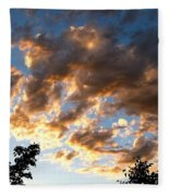 A Glorious Point In Time Fleece Blanket