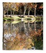 A Golden Moment  Fleece Blanket