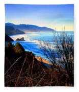 A Gorgeous Morning On The Pacific Fleece Blanket