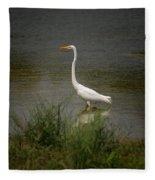 A Grassland Beauty Fleece Blanket