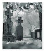 A Graveyard Fleece Blanket