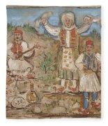 A Greek Feast Fleece Blanket