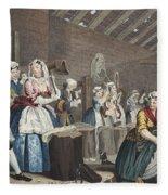 A Harlots Progress, Plate Lv Scene Fleece Blanket