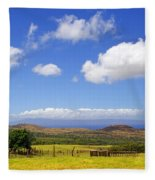 A Home With A View Fleece Blanket