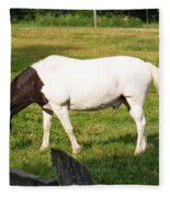 A Horse Named Dipstick Fleece Blanket