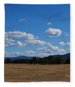 A June Panorama In Southern Oregon Fleece Blanket