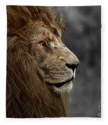 A King's Look Fleece Blanket