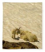 A Kiss For Mom Fleece Blanket