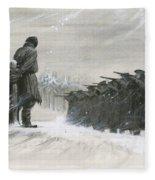 A Last Minute Reprieve Saved Fyodor Dostoievski From The Firing Squad Fleece Blanket