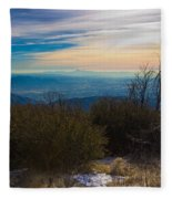 A Late Winter's Afternoon Fleece Blanket