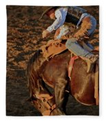 A Leap And A Bound Fleece Blanket